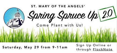 SMA Spring Spruce Up 2.0 Banner Image 2021